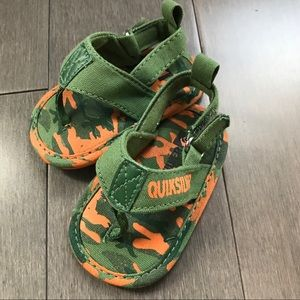 QuickSilver baby sandals! Perfect condition!
